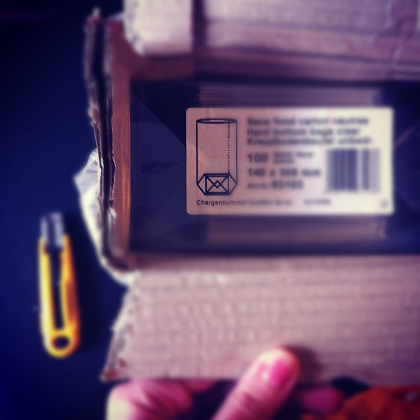 A desempacotar as embalagens #doSEMENTE