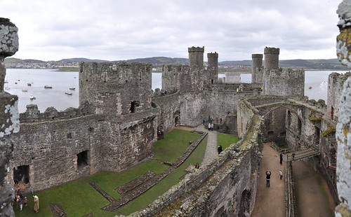 Overlooking Conwy Castle