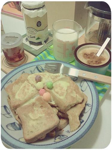週日自製早午餐 by 南南風_e l a i n e