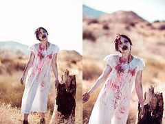 sandra zombie > Photo/shoot LA desert