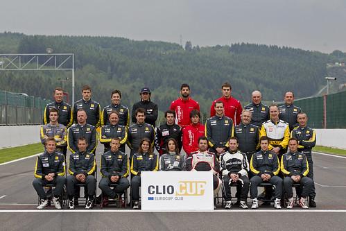 Pilotos Eurocup Clio 2012