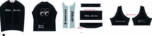 Bike Jerks Jersey Gray