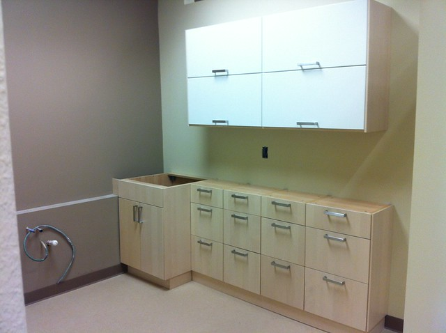ikea upper lower kitchen cabinets for examination room a bright and warm white ikea kitchen in yellowknife canada