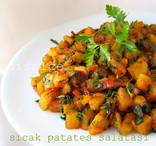 sıcak patates salatası
