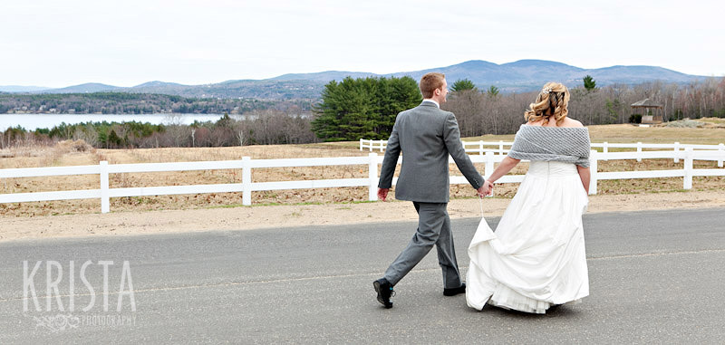 Winter Wedding in New Hampshire