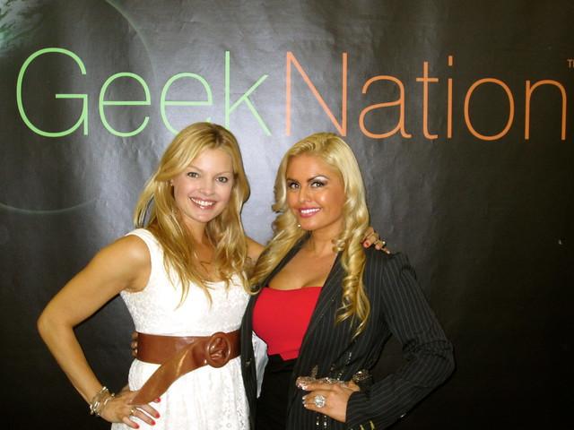 Clare Kramer, Tia Barr, Geek-Nation-3