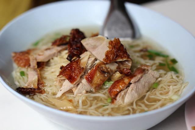Ba Mee Bpet (Egg Noodles w/ Duck) บะหมี่เป็ด