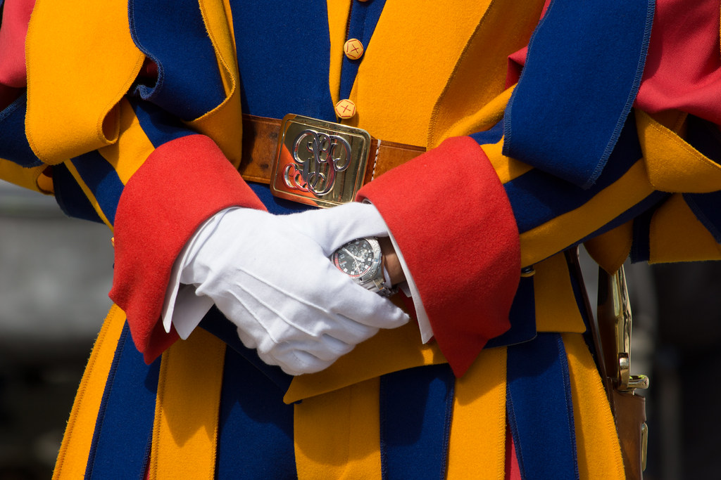 Swiss Guard Detail