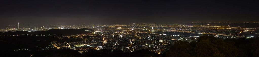 繁華的夜都市