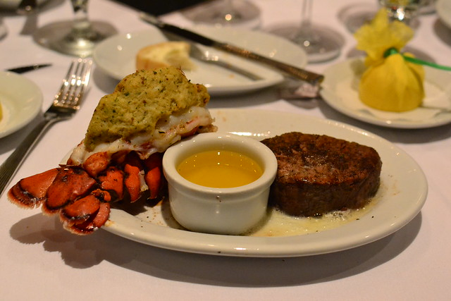 Steak and Lobster Tail