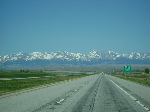 Mountains in Montana