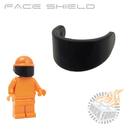 Face Shield - Black