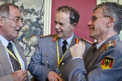 Generalleutnant Kasdorf war ranghöchster Teilnehmer