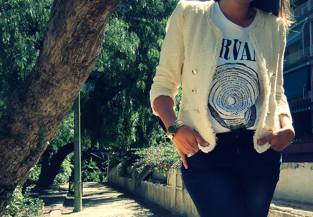 Look blanco Nirvana