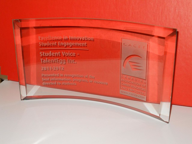 TalentEgg's Student Voice wins CACEE Excellence in Innovation Award