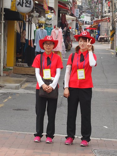 Tourism Ambassadors at Shincon Shopping Street