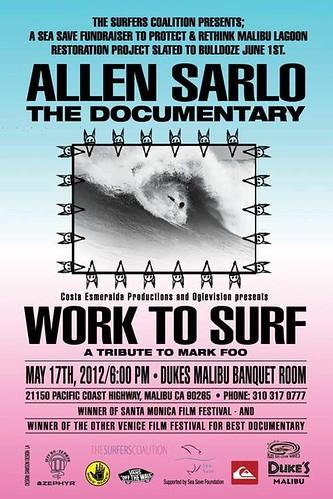 Allen Sarlo Work to Surf