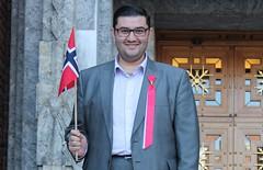 Mazyar Keshvari er leder for 17. mai-komitéen i Oslo 2012