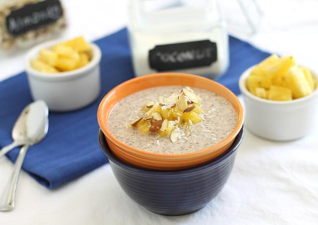 Overnight oats with buckwheat