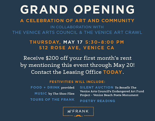 The Frank Venice Open House