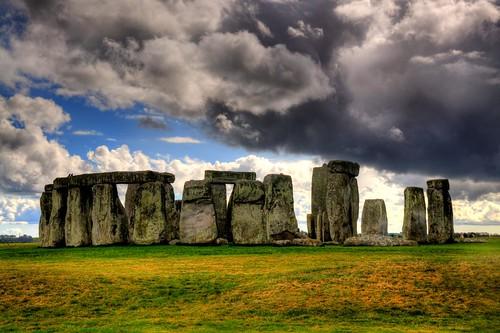 Stonehenge Elevation : Elevation of amesbury salisbury sp uk maplogs