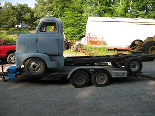 1952 International L-160 Series COE