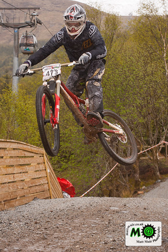 Photo ID 141 - 473 - Junior - Robert PICKARD  -, Halo British downhill series 2012 - Round 2 - Fort William, Race run by mattmuir.co.uk
