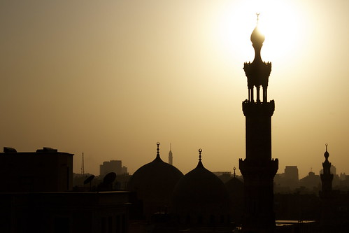 View from Al Azhar park