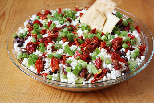 greek 7-layer dip.