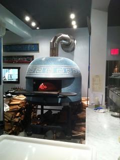 Via Tevere Pizzeria oven
