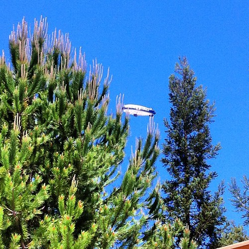 Clearly a sign from God. #Hangar1Vodka #blimp