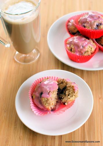 """Cherry """"Doughnut"""" Muffins"""