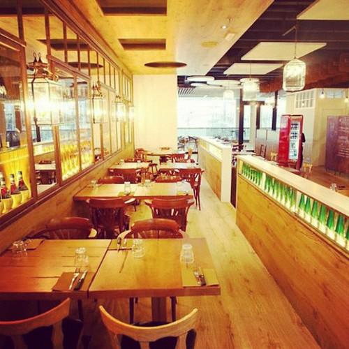 Pizza de autor en la nueva pizzeria de Fabián Martín en la segunda planta @FabianMartinBcn