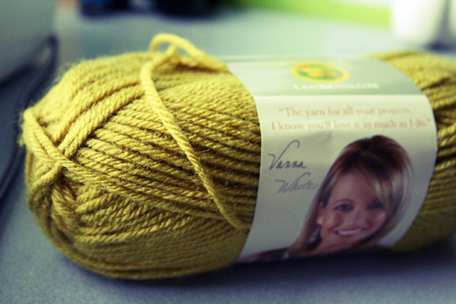 pea green yarn