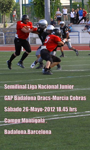 Badalona Dracs-Murcia Cobras.LNFAJR.Semifinales.