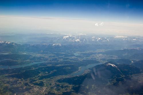 Alpen bei Klagenfurt / Wörthersee