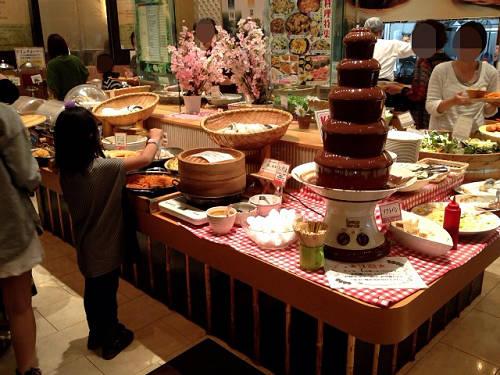 ビュッフェが楽しい『旬菜食健ひな野』@イオンモール橿原