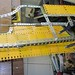 Small photo of Wing frame and aileron control rodding