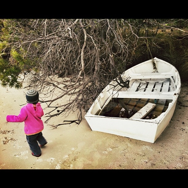 Shore Boat. #boat #beach