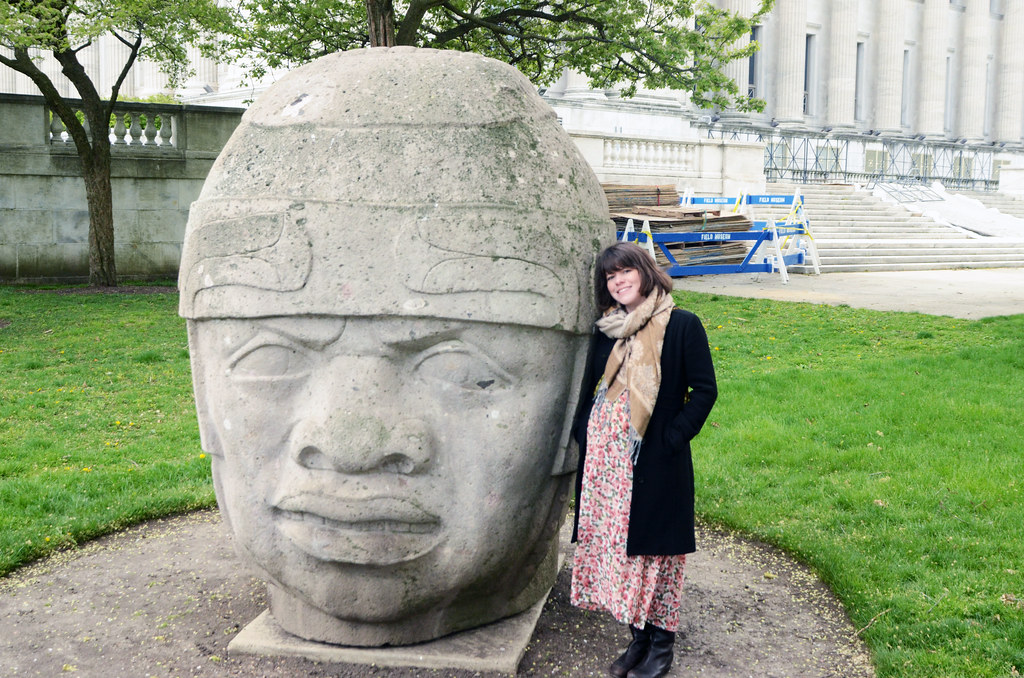 Olmec Head for Eugene