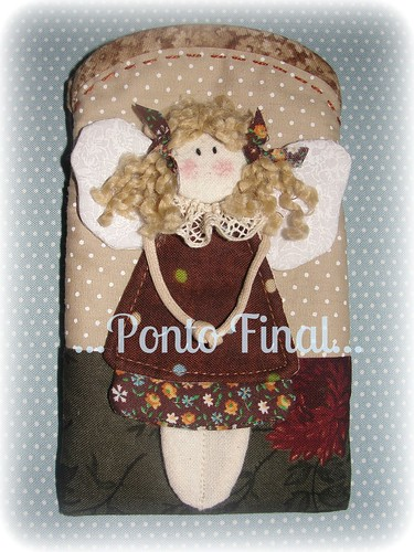 ...Capinha para Iphone, Ipod...etc... by Ponto Final - Patchwork