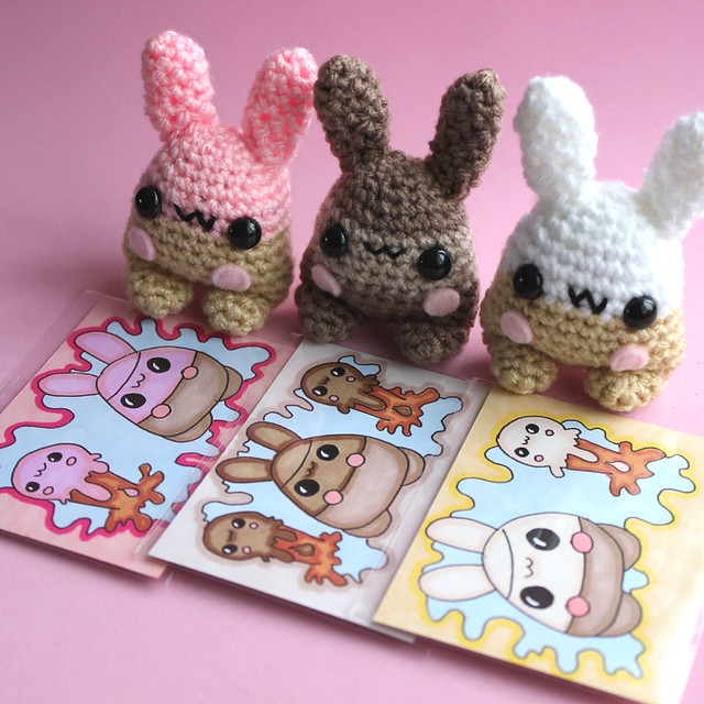 Amigurumi Ice-Cream Bunny Yumlings