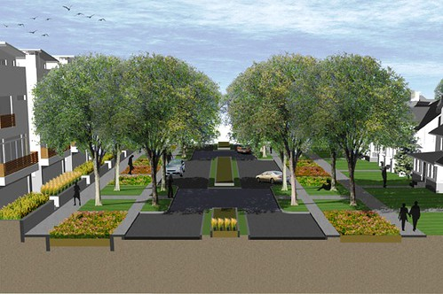redesign of Mariposa Street (by: Wenk Landscape Architects)
