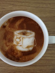 Today's latte, bitbucket.