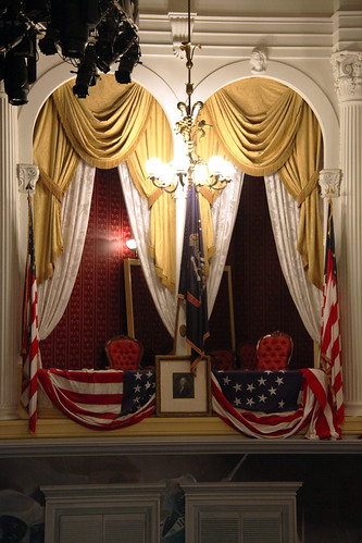 Abraham Lincoln Box - Fords Theatre - 2012-05-20