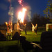 Me, Kevin, Simon and Rick playing with the roman candles while George supervises :). Victoria Day long weekend. Burlington, ON. Canada 21MAY12