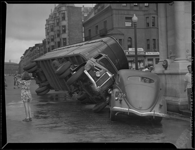 Brooklyn Bridge Car Accidents