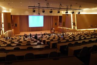 中央研究院の国際会議場