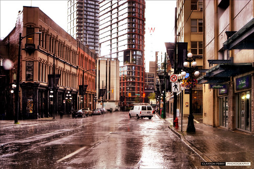 Rainy Days In Vancouver