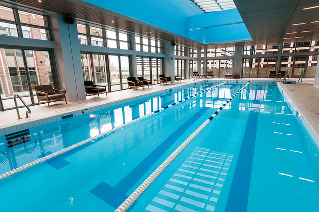 Swimming Pool At The Gym Flickr Photo Sharing